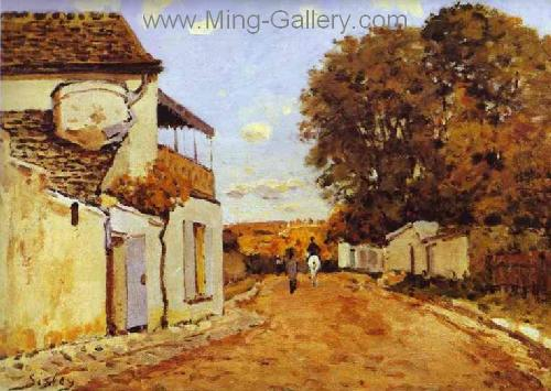 SIS0032 - Alfred Sisley Impressionist Art Reproduction Painting