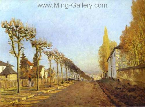 SIS0035 - Alfred Sisley Impressionist Art Reproduction Painting