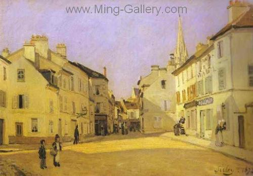 SIS0038 - Alfred Sisley Impressionist Art Reproduction Painting