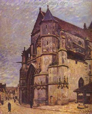 SIS0040 - Alfred Sisley Impressionist Art Reproduction Painting