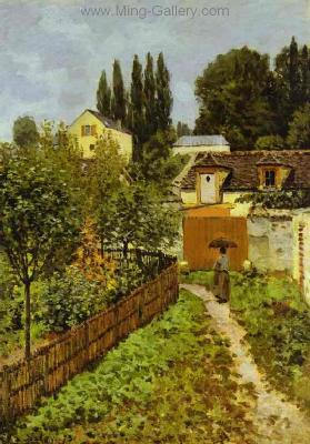 SIS0041 - Alfred Sisley Impressionist Art Reproduction Painting