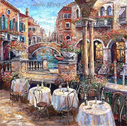 VEN0007 - Oil Painting of Venice