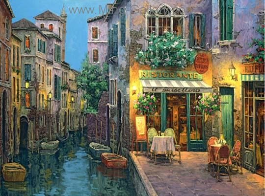 VEN0009 - Oil Painting of Venice