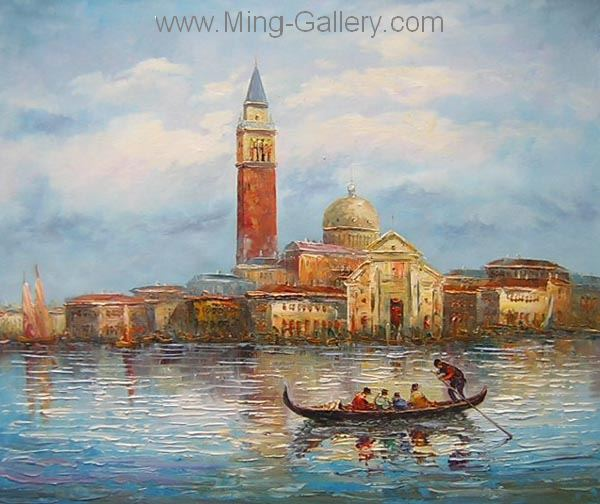 VEN0010 - Oil Painting of Venice