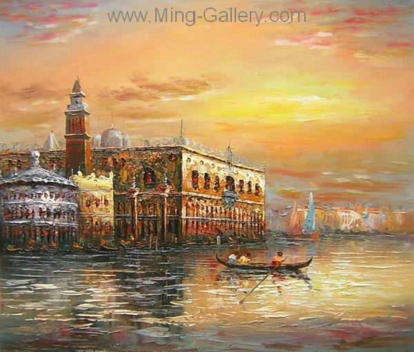 VEN0011 - Oil Painting of Venice