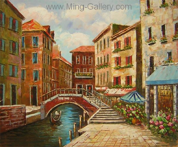 VEN0013 - Oil Painting of Venice