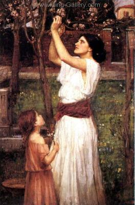 WAT0009 - John Waterhouse Oil Painting Reproduction