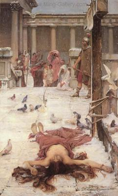 WAT0029 - John Waterhouse Oil Painting Reproduction