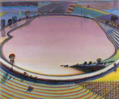 WTH0001 - Thiebaud Painting