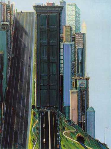 WTH0005 - Thiebaud Painting