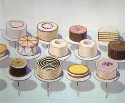WTH0008 - Thiebaud Painting