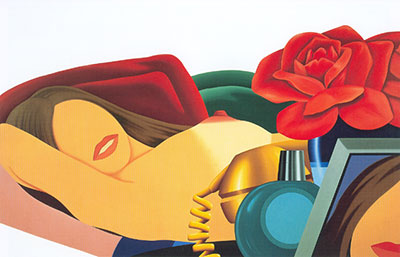 Wes2 - Wesselmann Art Reproduction Painting