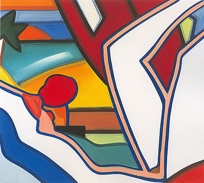 Wes3 - Wesselmann Art Reproduction Painting