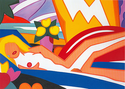 Wes5 - Wesselmann Art Reproduction Painting