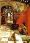 Alma-Tadema,  ALM0033 Alma-Tadema Reproduction Art Oil Painting