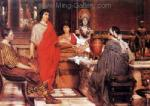 Alma-Tadema,  AML0005 Alma-Tadema Reproduction Art Oil Painting