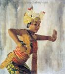 Traditional Balinese Art Painting