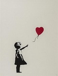 , Banksy1 Banksy Art Reproduction Painting