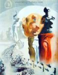 Dali, DAL0041 Salvador Dali Surrealist Art Reproduction OilonCanvas Painting