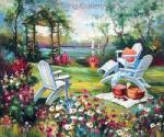 Garden Painting for Sale