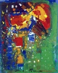 Hofmann, HOF0005 Hans Hofmann Oil Painting Reproduction