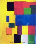 Hofmann, HOF0023 Hans Hofmann Oil Painting Reproduction