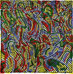 Haring, Hari20 Keith Haring Art Reproduction Painting