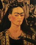 Kahlo,  KAL0001 Frida Kahlo Oil Painting Reproduction