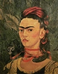 Kahlo, KAL0002 Frida Kahlo Oil Painting Reproduction