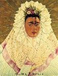 Kahlo, KAL0011 Frida Kahlo Oil Painting Reproduction
