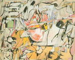 De Kooning, Koo15 Willem De Kooning Art Reproduction Painting