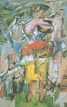 De Kooning, Koo17 Willem De Kooning Art Reproduction Painting