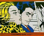 Lichtenstein, LEI0031 Pop Art Painting