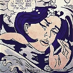 Lichtenstein, LEI0035 Pop Art Painting