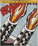 Lichtenstein, LEI0036 Pop Art Painting