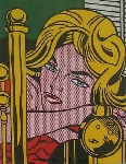 Lichtenstein, LEI0040 Pop Art Painting