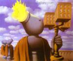 Magritte, MAG0032 Rene Magritte Surrealist Art Reproduction