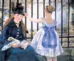 Manet, MAN0019 Manet Impressionist Painting Reproduction Art