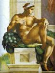 Michelangelo,  MIC0002 Michelangelo Oil Painting Copy