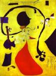 Miro, MIR0002 Miro Art Reproduction Painting