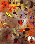 Miro, MIR0004 Miro Art Reproduction Painting