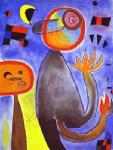 Miro, MIR0006 Miro Art Reproduction Painting