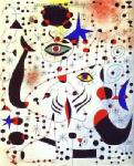 Miro, MIR0012 Miro Art Reproduction Painting