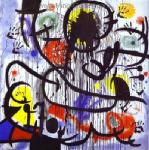 Miro, MIR0015 Miro Art Reproduction Painting