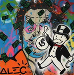 Alec, Mono3 Monopoly Art Reproduction Painting