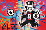 Alec, Mono5 Monopoly Art Reproduction Painting