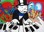 Alec, Mono7 Monopoly Art Reproduction Painting