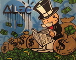 Alec, Mono8 Monopoly Art Reproduction Painting