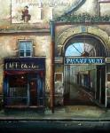 Oil Painting of Old Shopfront