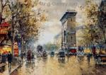 Oil Painting of Paris